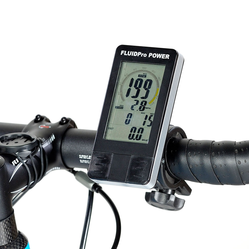 FluidPro Power Bike Trainer Computer