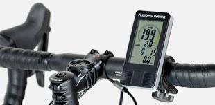 FluidPro Power Meter Display on handlebars